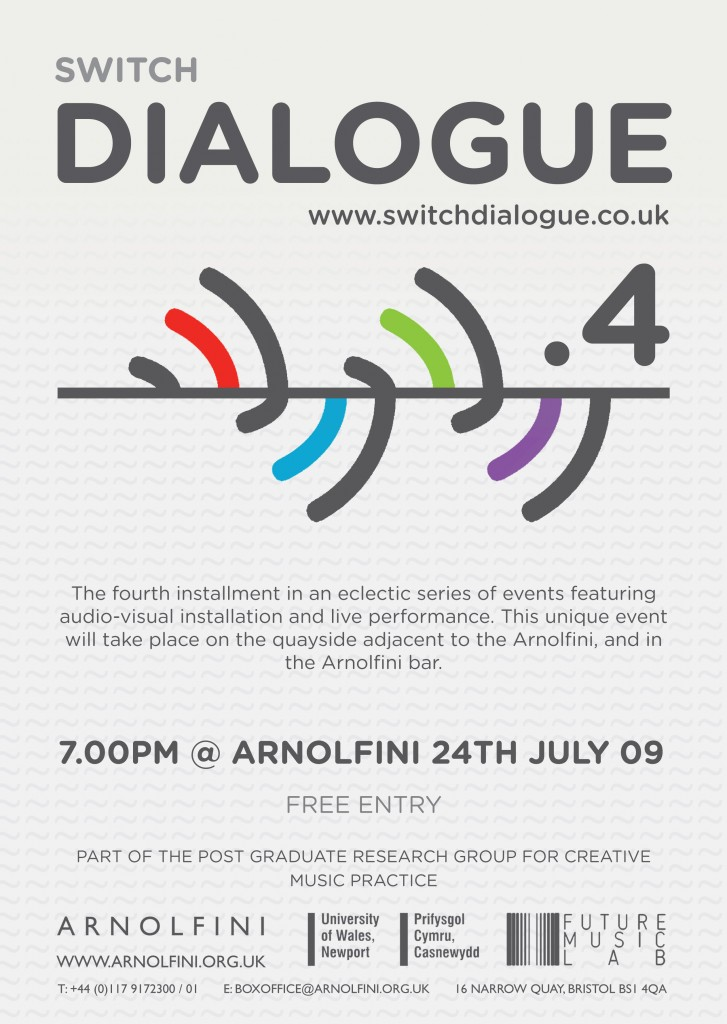 Dialogue .4 Flyer Front
