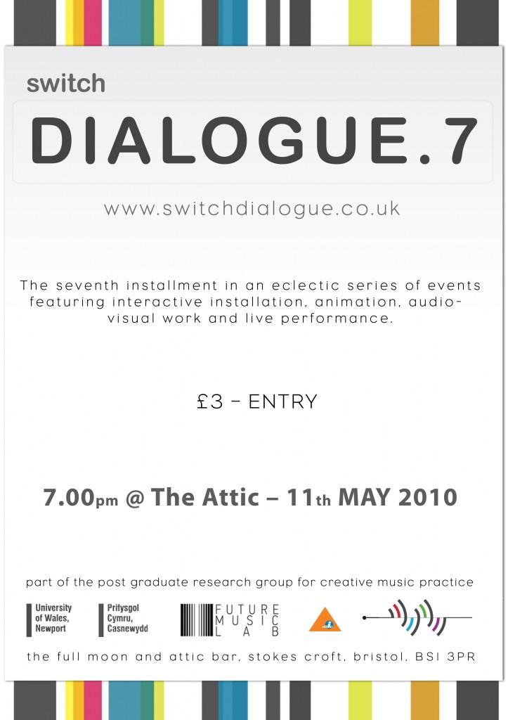 Dialogue 7 Poster