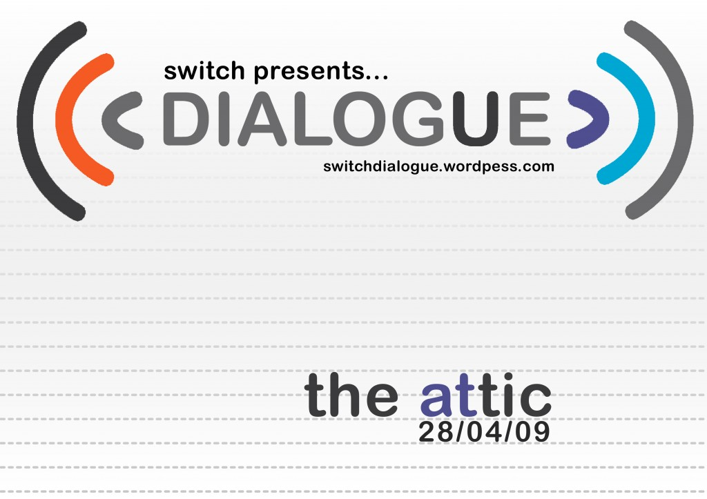 Dialogue.2 Flyer Front