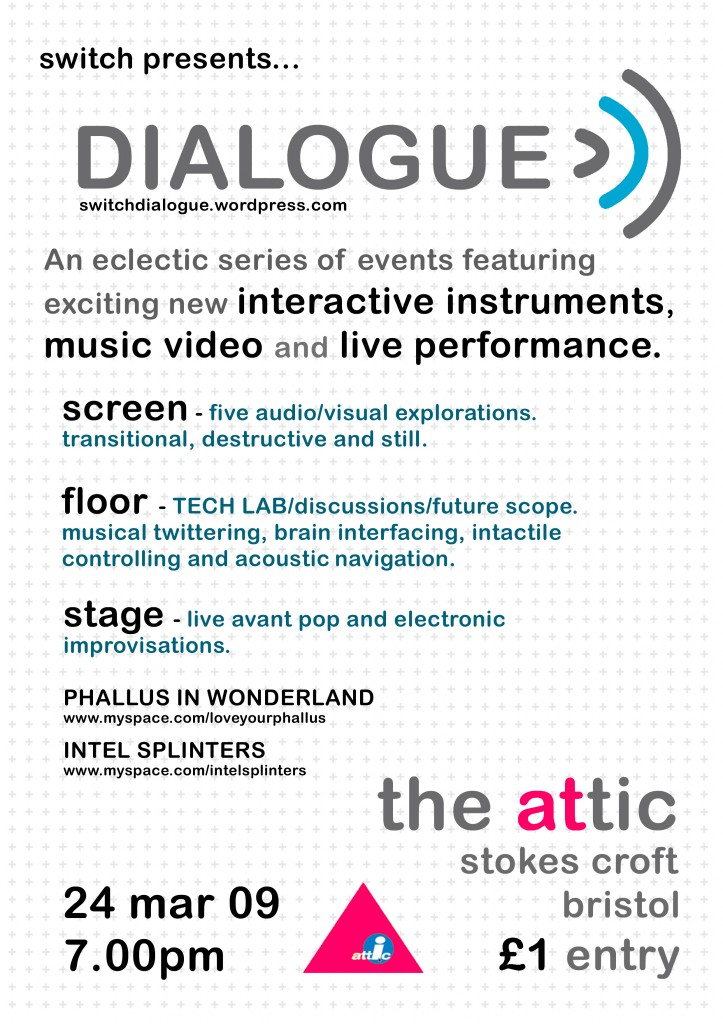 Dialogue .1 Flyer
